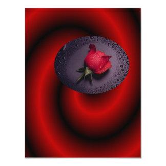 Dimension of Love 4.25x5.5 Paper Invitation Card