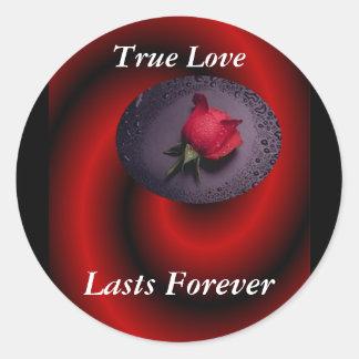 Dimension of Love Classic Round Sticker