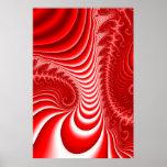Dimensión roja poster