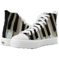 Dimensional Keyboard High-Top Sneakers