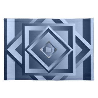 Dimensional Modern Flair Cloth Place Mat
