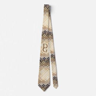 Dimensional Square-DG Neck Tie