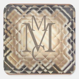 Dimensional Square-MMC Square Sticker