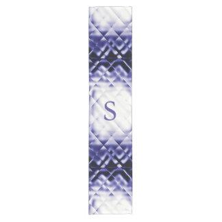 Dimensional Square-Navy-blue-S Short Table Runner