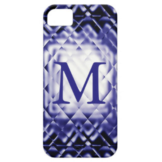 Dimensional Square-Navy-M iPhone SE/5/5s Case