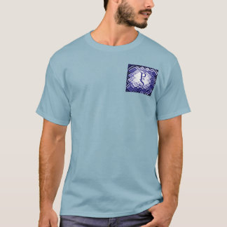 Dimensional Square-Navy-PS T-Shirt