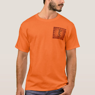 Dimensional Square-Red-PS T-Shirt
