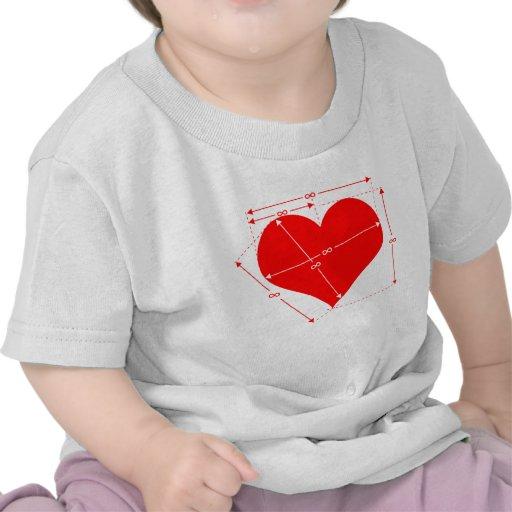 Dimensiones del amor camiseta