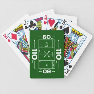Dimensiones del campo baraja de cartas