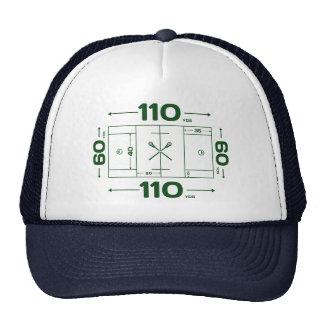 Dimensiones del campo gorra
