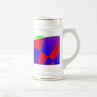Dimensiones dobladas de Kenneth Yoncich Jarra De Cerveza