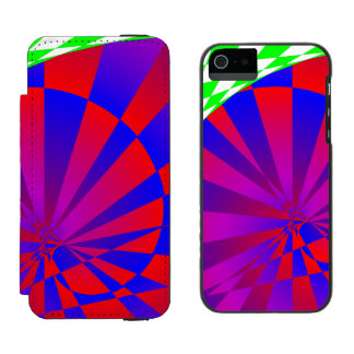 Dimensiones dobladas funda billetera para iPhone 5 watson