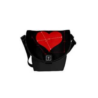Dimensions of Love Courier Bags