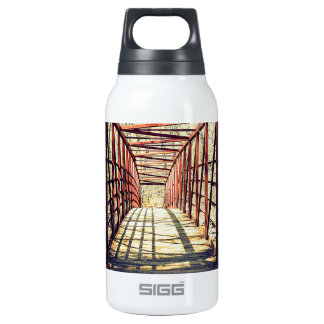 """""""Dimensions"""" Thermos Water Bottle"""