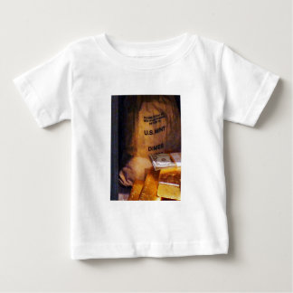 Dimes, Dollars and Gold Baby T-Shirt