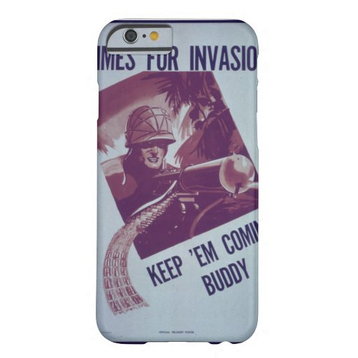 Dimes_for_Invasion^_Propaganda Poster Barely There iPhone 6 Case