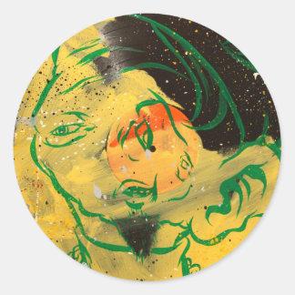 Dimestore Beatnick Classic Round Sticker