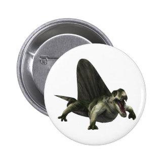 Dimetrodon Pinback Buttons