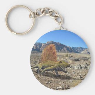 Dimetrodon Dinosaur Key Chain