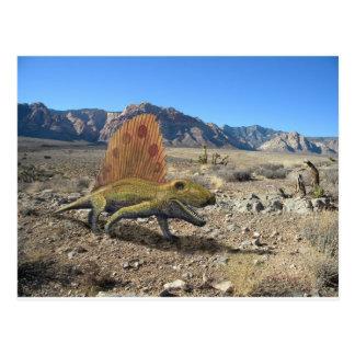 Dimetrodon Dinosaur Postcard