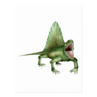 Dimetrodon Postcard