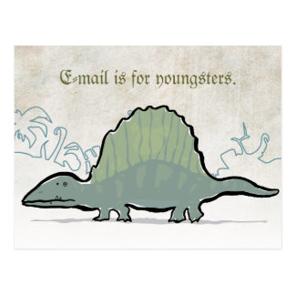 dimetrodon post card