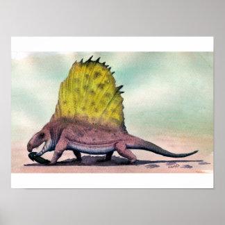 Dimetrodon Print