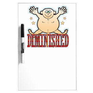 Diminished Fat Man Dry-Erase Board