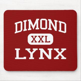 Dimond - lince - High School secundaria - Anchorag Alfombrillas De Ratón