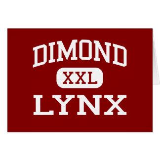 Dimond - lince - High School secundaria - Anchorag Tarjeta De Felicitación