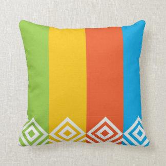 Dimond pattern pillow design