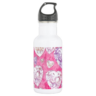 dimonds stainless steel water bottle