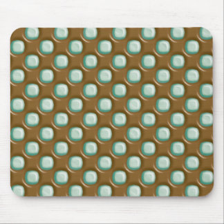 Dimple Dots - Chocolate Mint Mouse Pad