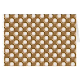 Dimple Dots - Milk Chocolate and White Chocolate Card