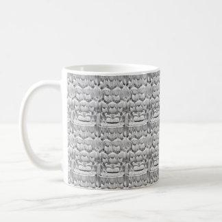 Dimpled pint beer glass coffee mug