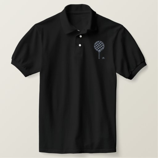 DIMPLES EMBROIDERED POLO SHIRT