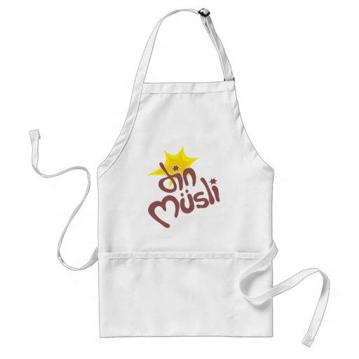 Din Musli Mechandise Apron