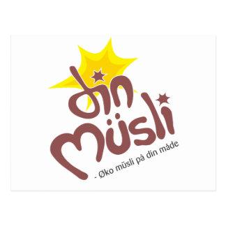 Din Musli Mechandise Postcard
