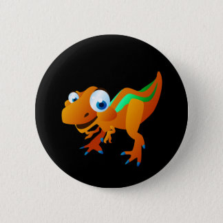 Dina The Dinosaur Pinback Button