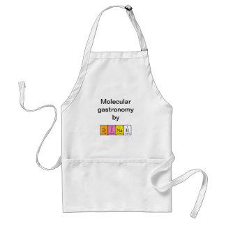Dinah periodic table name apron