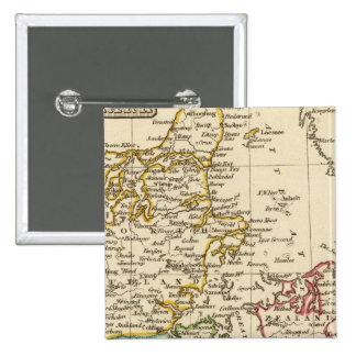 Dinamarca 13 pin cuadrado