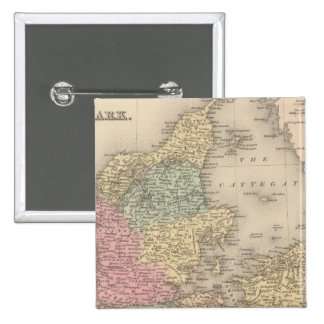 Dinamarca 5 pin cuadrada 5 cm