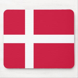 Dinamarca - bandera danesa tapetes de ratón