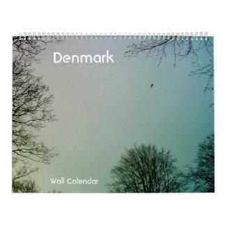 Dinamarca, calendario de pared adaptable
