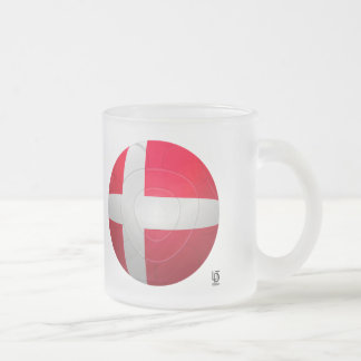 Dinamarca - De Rød-Hvide Football Taza