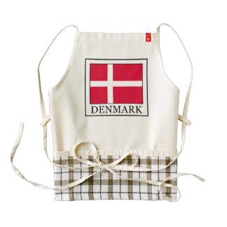 Dinamarca Delantal Zazzle HEART