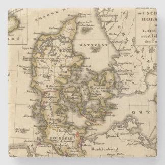 Dinamarca e Islandia 2 Posavasos De Piedra