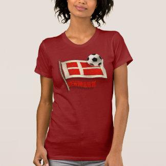 Dinamarca Fodbold aviva los regalos de la bola de Camisetas