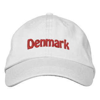 Dinamarca Gorras De Beisbol Bordadas