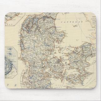 Dinamarca, Hannover, Brunswick, Mecklenburg Tapetes De Ratón